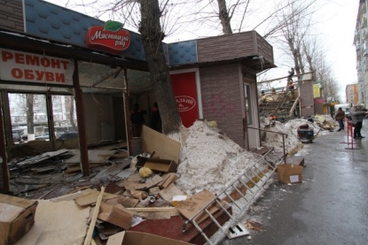 Общие новости: Андрей Шаронов назвал снос ларьков болезненым, но необходимым процессом