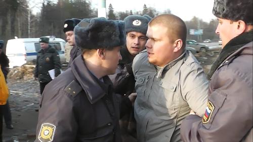 Жилетка: Общие новости: Пикет и произвол полиции г. Ижевск