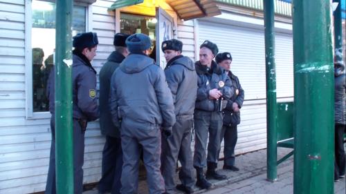 Жилетка: Общие новости: Произвол полиции и пикет. Ижевск.