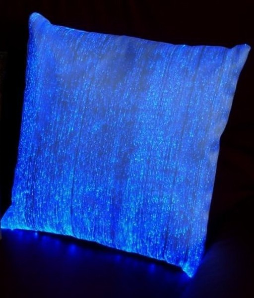 Идеи: Светящаяся ткань